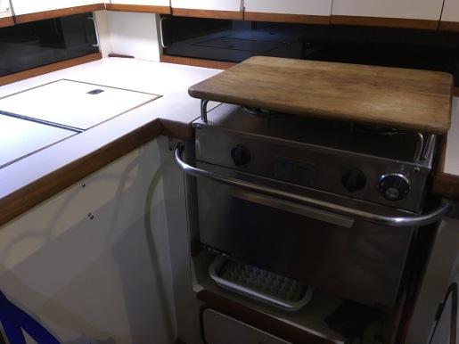 Large Adler-Barbour reefer includes a large freezer box.
